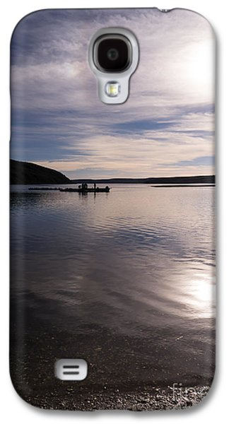 Contemplative Photographs Galaxy S4 Cases - Drakes Bay Oyster Company At Drakes Estero In Inverness Point Reyes California DSC2294 Galaxy S4 Case by Wingsdomain Art and Photography