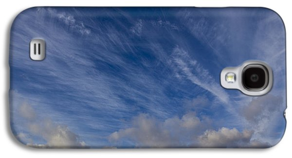 Nature Abstracts Galaxy S4 Cases - Drama sky Galaxy S4 Case by David Pyatt