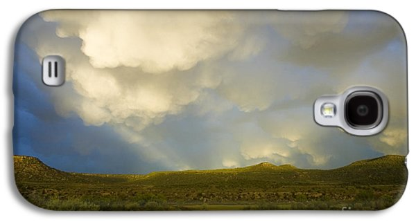 River Flooding Galaxy S4 Cases - Dramatic Sky Galaxy S4 Case by Jerry McElroy