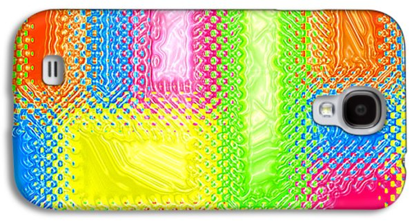 Abstract Digital Digital Galaxy S4 Cases - Drastic Plastic Galaxy S4 Case by Cristophers Dream Artistry