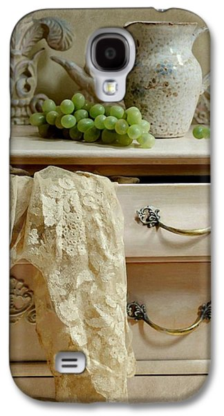Still Life With Old Pitcher Galaxy S4 Cases - Drawer of Lace Galaxy S4 Case by Diana Angstadt