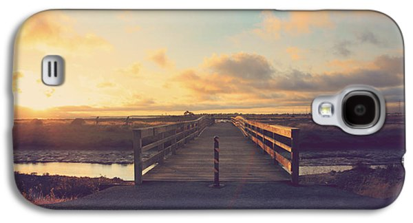 Wetlands Galaxy S4 Cases - Drawing Nearer Galaxy S4 Case by Laurie Search