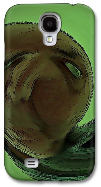 Abstract Digital Mixed Media Galaxy S4 Cases - Dream Galaxy S4 Case by David Dehner