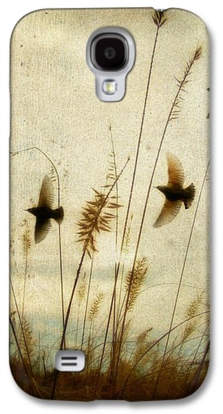 Nature Scene Digital Art Galaxy S4 Cases - Dream Field Galaxy S4 Case by Gothicolors Donna Snyder