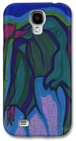 Subconscious Paintings Galaxy S4 Cases - Dream in Color 1 by jrr Galaxy S4 Case by First Star Art