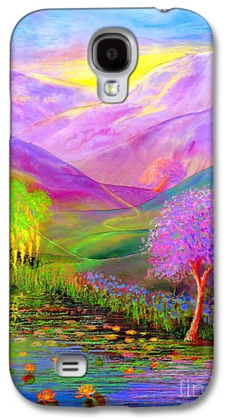 Dreamscape Galaxy S4 Cases - Dream Lake Galaxy S4 Case by Jane Small