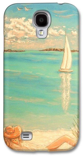 Beach Landscape Pastels Galaxy S4 Cases - Dream Galaxy S4 Case by The Beach  Dreamer