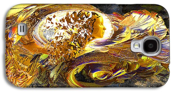 Abstract Movement Galaxy S4 Cases - Dream Weaver Galaxy S4 Case by Michael Durst