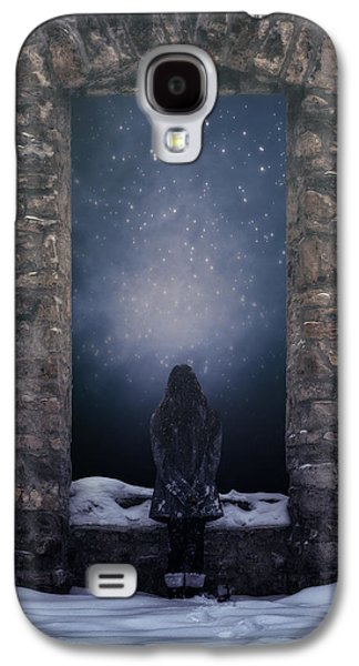 Snowy Evening Galaxy S4 Cases - Dreaming In Snow Galaxy S4 Case by Joana Kruse