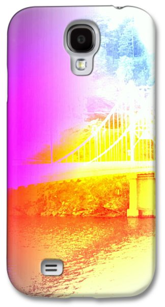 Implication Photographs Galaxy S4 Cases - Dreaming Of A Bridge Galaxy S4 Case by Hilde Widerberg