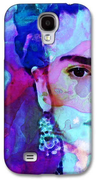 Famous Artist Galaxy S4 Cases - Dreaming of Frida - Art By Sharon Cummings Galaxy S4 Case by Sharon Cummings