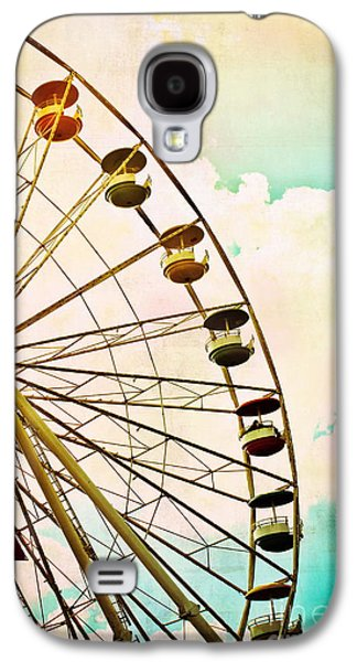 Original Art Photographs Galaxy S4 Cases - Dreaming of Summer - Ferris Wheel Galaxy S4 Case by Colleen Kammerer