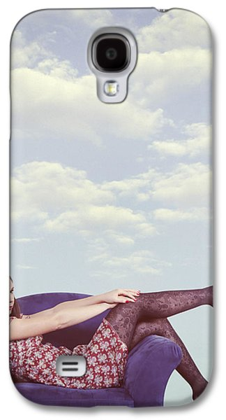 Contemplative Photographs Galaxy S4 Cases - Dreaming To Fly Galaxy S4 Case by Joana Kruse