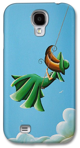 Girl Galaxy S4 Cases - Dreamland Galaxy S4 Case by Cindy Thornton
