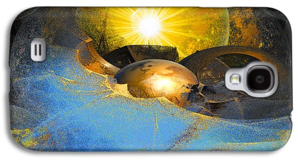 Abstract Movement Galaxy S4 Cases - Dreamland Galaxy S4 Case by Michael Durst