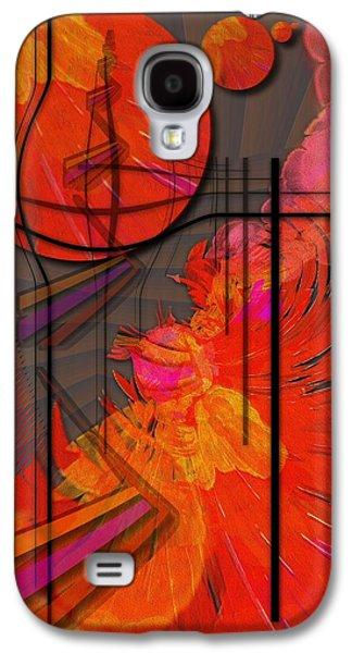 Dreamscape Galaxy S4 Cases - Dreamscape 06 - TANGERINE DREAM Galaxy S4 Case by Mimulux patricia no
