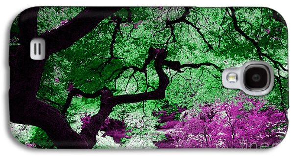 Trees Galaxy S4 Cases - Dreamscape Galaxy S4 Case by Marvin Blaine