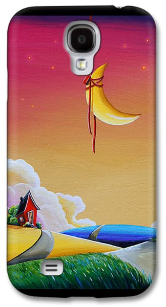 Dreamscape Galaxy S4 Cases - Dreamville Galaxy S4 Case by Cindy Thornton