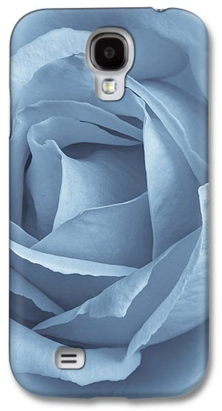 Selenium Galaxy S4 Cases - Dreamy Blue Galaxy S4 Case by Heidi Smith