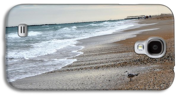 Ocean Art Photos Galaxy S4 Cases - Dreamy Ocean Beach North Carolina Coastal Beach  Galaxy S4 Case by Kathy Fornal