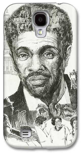 Slavery Paintings Galaxy S4 Cases - Dred Scott Galaxy S4 Case by Don  Langeneckert