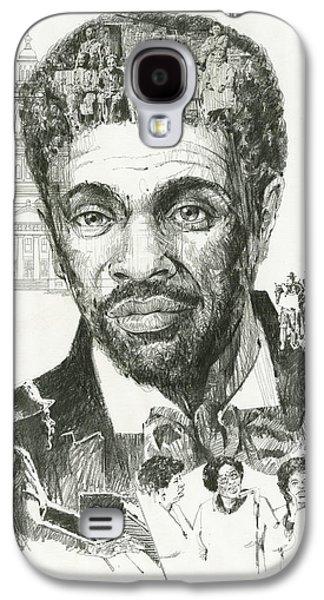 Slavery Galaxy S4 Cases - Dred Scott Galaxy S4 Case by Don  Langeneckert