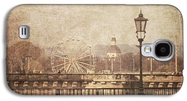 Cities Pyrography Galaxy S4 Cases - Dresden Galaxy S4 Case by Jelena Jovanovic