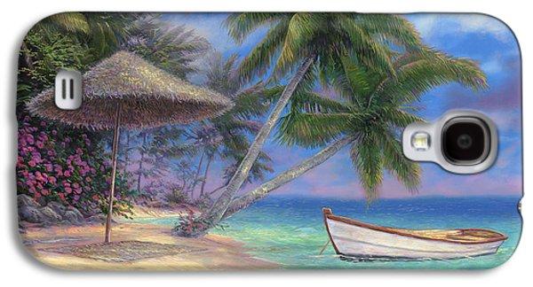 Beach Landscape Galaxy S4 Cases - Drift Away Galaxy S4 Case by Chuck Pinson