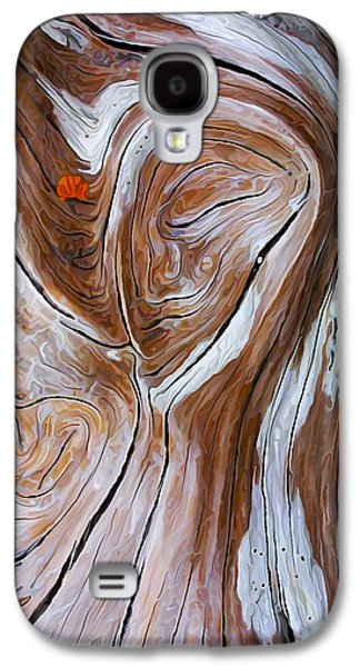 Photo Manipulation Photographs Galaxy S4 Cases - Driftwood 6 Galaxy S4 Case by Bill Caldwell -        ABeautifulSky Photography
