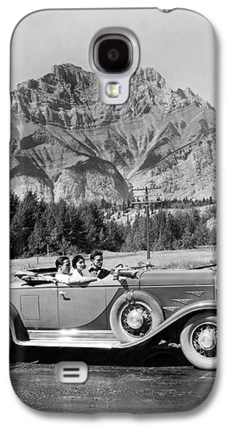 Underwood Archives - Galaxy S4 Cases - Drive In The Canadian Rockies Galaxy S4 Case by Underwood Archives