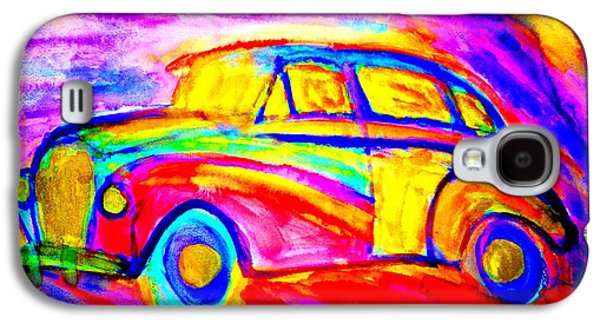 Component Paintings Galaxy S4 Cases - Driving home  Galaxy S4 Case by Hilde Widerberg