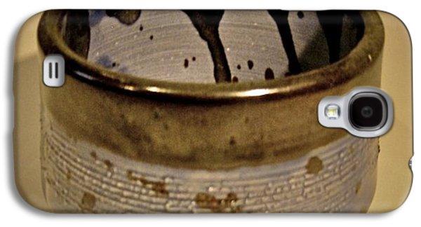Fired Ceramics Galaxy S4 Cases - Drop in the Bucket Galaxy S4 Case by Mario Perron