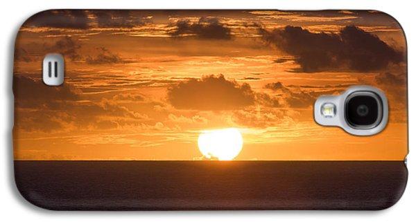 Ocean Photos Galaxy S4 Cases - Drowning Sun Galaxy S4 Case by Ocean Photos