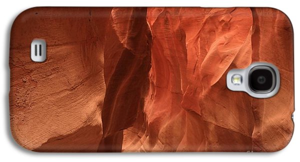 Holes In Sandstone Galaxy S4 Cases - Dry Fork GLow Galaxy S4 Case by Adam Jewell