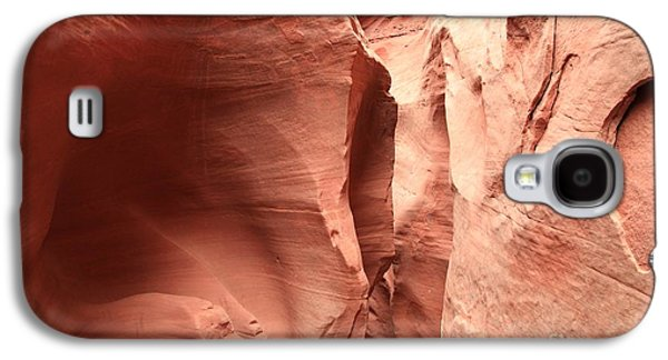 Holes In Sandstone Galaxy S4 Cases - Dry Fork Sandstone Galaxy S4 Case by Adam Jewell