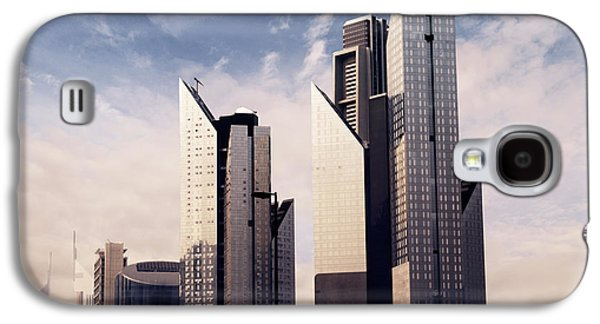 Business Pyrography Galaxy S4 Cases - Dubai Skyline Galaxy S4 Case by Jelena Jovanovic