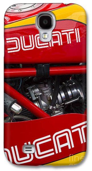 Ducati 900ss Tt2 Motorcycle  Galaxy S4 Case by Tim Gainey
