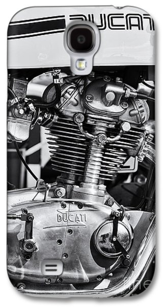 Bicycle Photographs Galaxy S4 Cases - Ducati Desmo Galaxy S4 Case by Tim Gainey