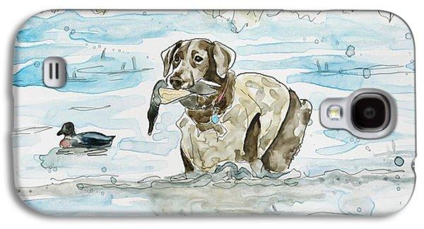 Working Dog Galaxy S4 Cases - Duck Hunter Galaxy S4 Case by Shaina Stinard