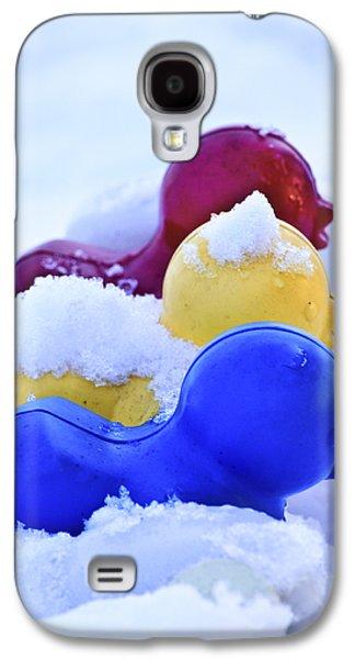 Youthful Galaxy S4 Cases - Ducks in a Row Galaxy S4 Case by Christi Kraft