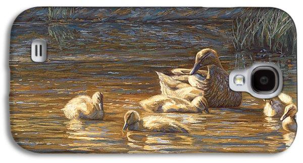 Ducks Galaxy S4 Case by Lucie Bilodeau