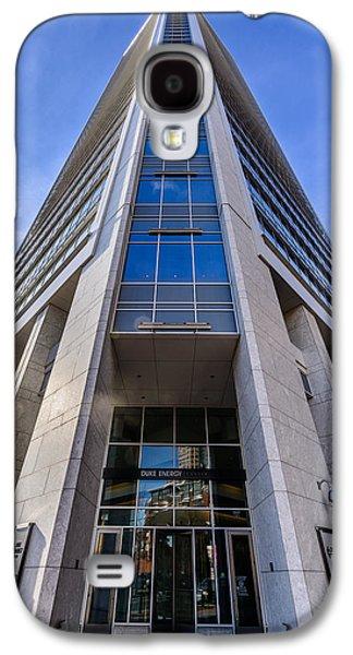 Uptown Charlotte Galaxy S4 Cases - Duke Energy Center Corner View Galaxy S4 Case by Randy Scherkenbach