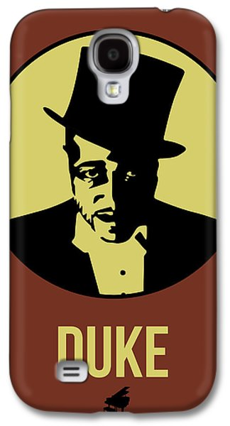 Classical Music Galaxy S4 Cases - Duke Poster 1 Galaxy S4 Case by Naxart Studio
