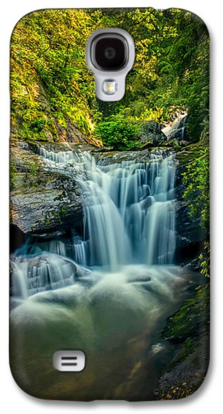 Slaves Galaxy S4 Cases - Dukes Creek Falls Galaxy S4 Case by John Haldane