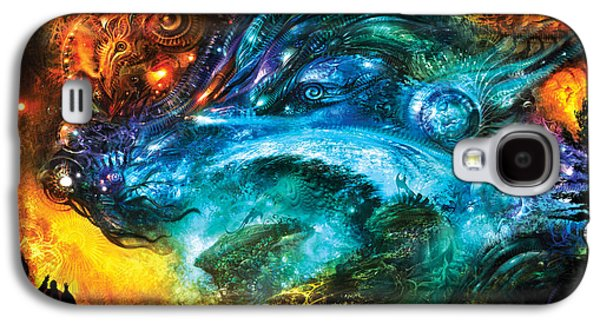 Conceptual Galaxy S4 Cases - Dulcior Nocens Somnium Galaxy S4 Case by Alex Ruiz