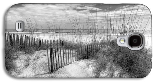 Dune Fences Galaxy S4 Case by Debra and Dave Vanderlaan