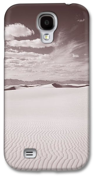 Sand Patterns Galaxy S4 Cases - Dunes, White Sands, New Mexico, Usa Galaxy S4 Case by Panoramic Images