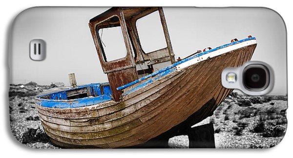 Landmarks Photographs Galaxy S4 Cases - Boat Four Galaxy S4 Case by Mark Rogan