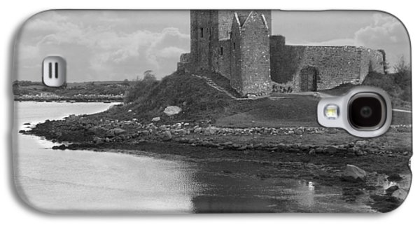 Walkway Digital Art Galaxy S4 Cases - Dunguaire Castle - Ireland Galaxy S4 Case by Mike McGlothlen