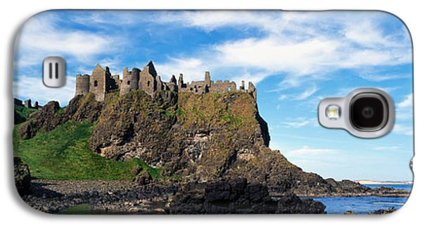Castle Photographs Galaxy S4 Cases - Dunluce Castle, Antrim, Ireland Galaxy S4 Case by Panoramic Images